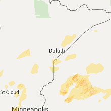 Hail Map for duluth-mn 2017-09-22
