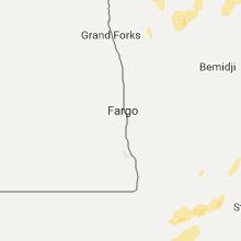 Regional Hail Map for Fargo, ND - Friday, September 22, 2017