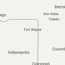 Hail Map for fort-wayne-in 2017-09-22