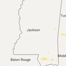 Regional Hail Map for Jackson, MS - Saturday, September 23, 2017