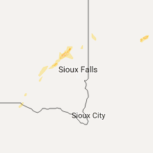 Regional Hail Map for Sioux Falls, SD - Saturday, September 23, 2017