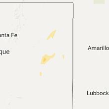 Hail Map for tucumcari-nm 2017-09-24