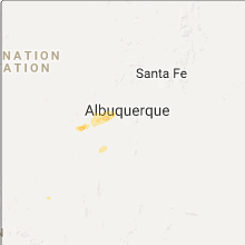 Hail Map for albuquerque-nm 2017-09-28