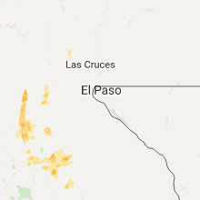 Regional Hail Map for El Paso, TX - Thursday, September 28, 2017