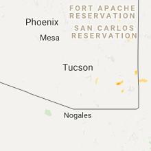 Hail Map for tucson-az 2017-09-29