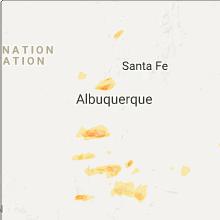 Hail Map for albuquerque-nm 2017-10-05