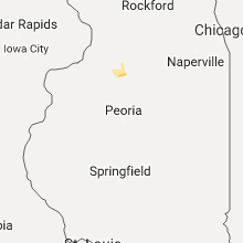 Hail Map for peoria-il 2017-10-13