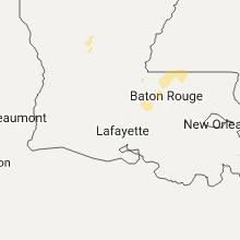 Regional Hail Map for Lafayette, LA - Saturday, October 21, 2017