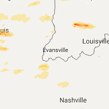 Regional Hail Map for Evansville, IN - Sunday, November 5, 2017