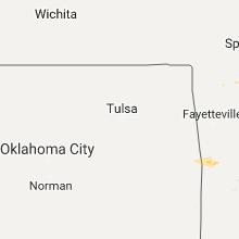 Regional Hail Map for Tulsa, OK - Monday, November 6, 2017