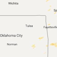 Regional Hail Map for Tulsa, OK - Monday, December 4, 2017