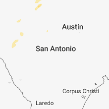 Hail Map for san-antonio-tx 2018-02-20