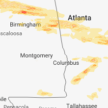 Hail Map for auburn-al 2018-03-19