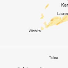 Regional Hail Map for Wichita, KS - Sunday, March 25, 2018