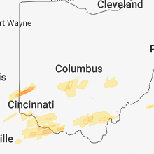 Hail Map for columbus-oh 2018-04-03