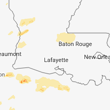 Hail Map for lafayette-la 2018-04-03