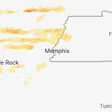 Hail Map for memphis-tn 2018-04-03