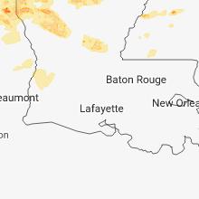 Hail Map for lafayette-la 2018-04-06