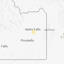 Hail Map for idaho-falls-id 2018-04-07