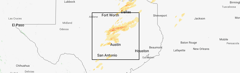 Interactive Hail Maps Hail Map For Marble Falls Tx