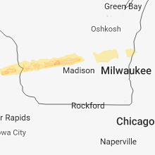 Hail Map for madison-wi 2018-04-13