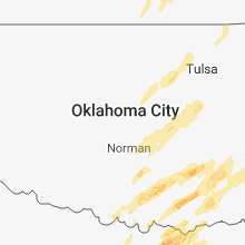 Regional Hail Map for Oklahoma City, OK - Friday, April 13, 2018