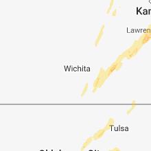 Regional Hail Map for Wichita, KS - Friday, April 13, 2018