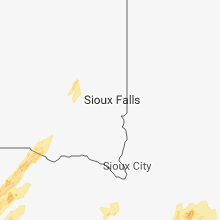 Regional Hail Map for Sioux Falls, SD - Monday, April 30, 2018