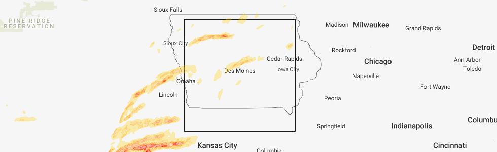 Interactive Hail Maps Hail Map For Nevada Ia