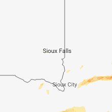 Regional Hail Map for Sioux Falls, SD - Tuesday, May 1, 2018
