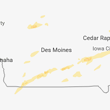 Hail Map for des-moines-ia 2018-05-02