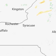 Regional Hail Map for Syracuse, NY - Friday, May 4, 2018