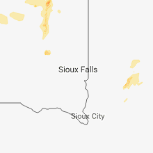 Regional Hail Map for Sioux Falls, SD - Tuesday, May 8, 2018