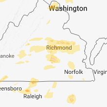 Regional Hail Map for Richmond, VA - Thursday, May 10, 2018