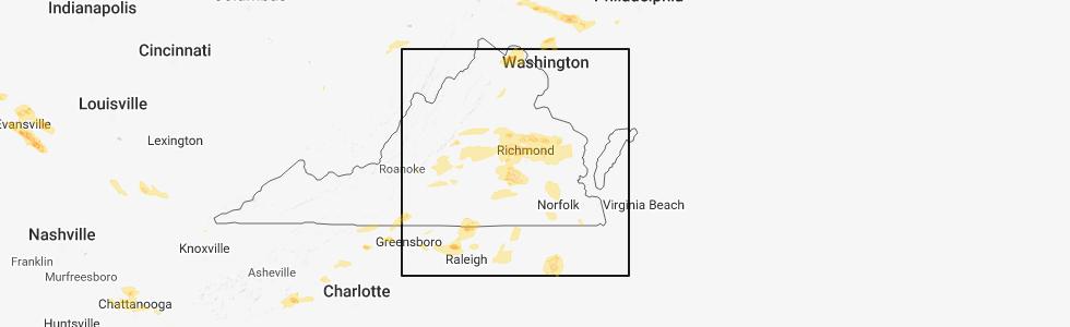 Gaston Nc Map.Interactive Hail Maps Hail Map For Gaston Nc