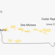 Hail Map for des-moines-ia 2018-05-11