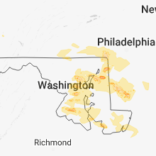 Regional Hail Map for Baltimore, MD - Saturday, May 12, 2018