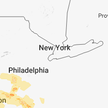 Regional Hail Map for Brooklyn, NY - Saturday, May 12, 2018