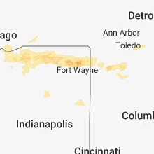 Hail Map for fort-wayne-in 2018-05-14