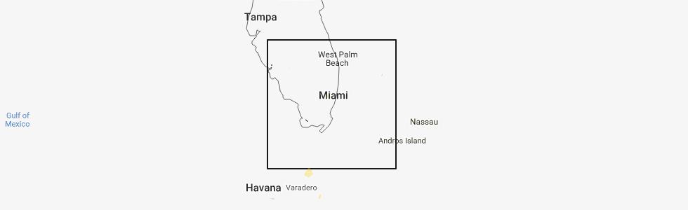 Miramar Florida Map.Interactive Hail Maps Hail Map For Miramar Fl