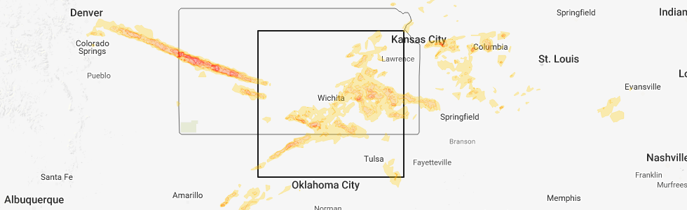 Inola Oklahoma Map.Interactive Hail Maps Hail Map For Inola Ok