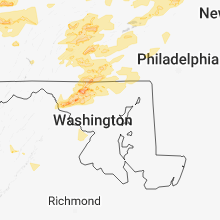 Regional Hail Map for Baltimore, MD - Tuesday, May 15, 2018