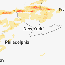 Regional Hail Map for Brooklyn, NY - Tuesday, May 15, 2018