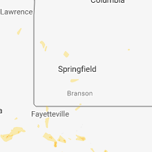 Regional Hail Map for Springfield, MO - Wednesday, May 16, 2018