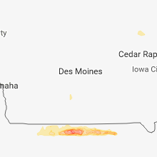 Hail Map for des-moines-ia 2018-05-19