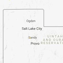 Regional Hail Map for Salt Lake City, UT - Sunday, May 20, 2018
