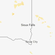 Regional Hail Map for Sioux Falls, SD - Tuesday, May 22, 2018