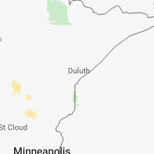 Hail Map for duluth-mn 2018-05-23