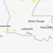 Hail Map for lafayette-la 2018-05-23