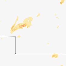 Regional Hail Map for North Platte, NE - Wednesday, May 23, 2018